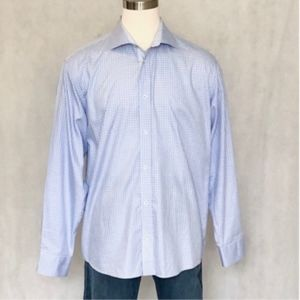 Bugatchi Long Sleeve Classic Fit Dress Shirt